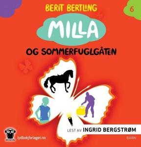 Milla og sommerfuglgåten (lydbok) av Berit Be