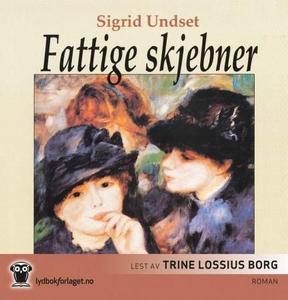 Fattige skjebner (lydbok) av Sigrid Undset