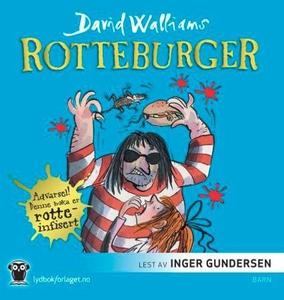 Rotteburger (lydbok) av David Walliams