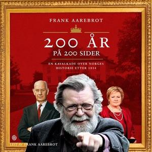 200 år på 200 sider (lydbok) av Frank Aarebro