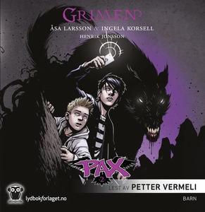 Grimen (lydbok) av Åsa Larsson, Ingela Korsel