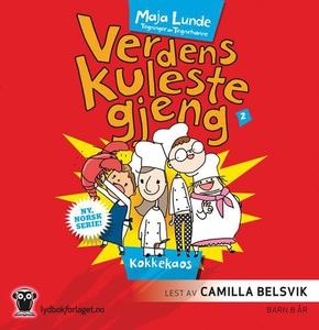 Kokkekaos (lydbok) av Maja Lunde