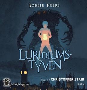 Luridiumstyven (lydbok) av Bobbie Peers