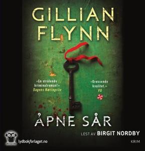 Åpne sår (lydbok) av Gillian Flynn