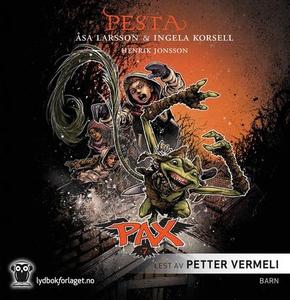 Pesta (lydbok) av Åsa Larsson, Ingela Korsell