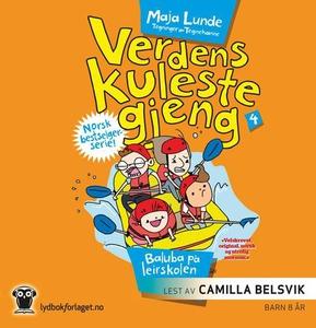 Baluba på leirskolen (lydbok) av Maja Lunde