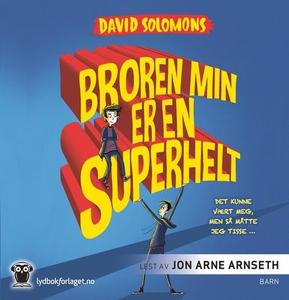 Broren min er en superhelt (lydbok) av David