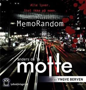 MemoRandom (lydbok) av Anders de la Motte, An