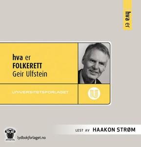 Hva er folkerett (lydbok) av Geir Ulfstein