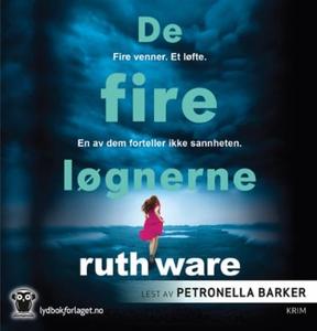 De fire løgnerne (lydbok) av Ruth Ware