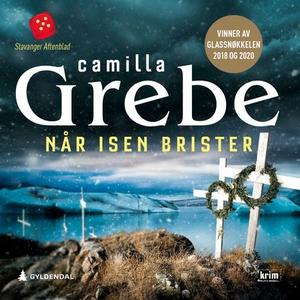 Når isen brister (lydbok) av Camilla Grebe