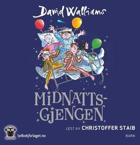 Midnattsgjengen (lydbok) av David Walliams