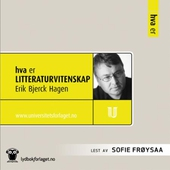 Hva er litteraturvitenskap