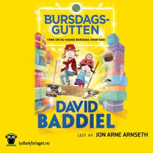 Bursdagsgutten (lydbok) av David Baddiel