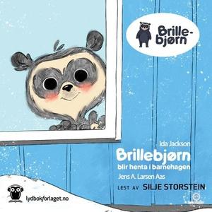 Brillebjørn blir henta i barnehagen (lydbok)