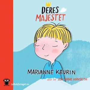 Deres majestet (lydbok) av Marianne Kaurin