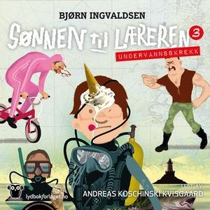 Undervannsskrekk (lydbok) av Bjørn Ingvaldsen
