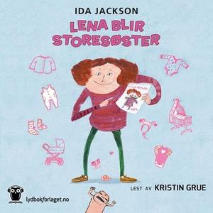 Lena blir storesøster (lydbok) av Ida Jackson