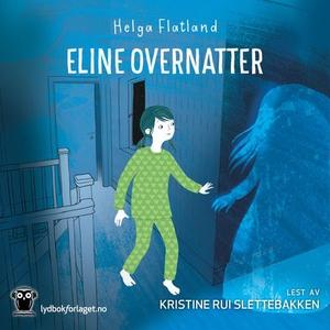 Eline overnatter (lydbok) av Helga Flatland