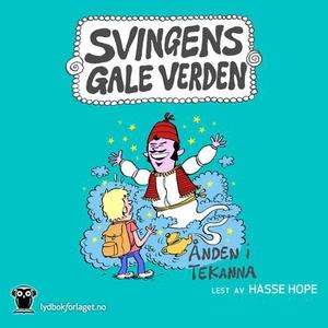 Ånden i tekanna (lydbok) av Arne Svingen