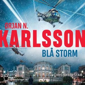 Blå storm (lydbok) av Ørjan N. Karlsson, Ørja