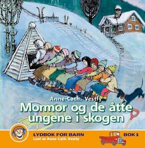 Mormor og de åtte ungene i skogen (lydbok) av