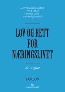 Lov og rett for næringslivet (ebok) av Sverre