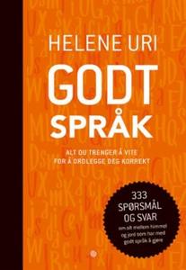 Godt språk (ebok) av Helene Uri