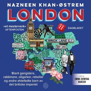 London (lydbok) av Nazneen Khan-Østrem