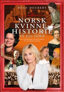 Norsk kvinnehistorie på 200 sider (ebok) av H