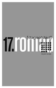 17. roman (ebok) av Dag Solstad