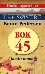 I beste mening (ebok) av Bente Pedersen