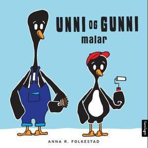 Unni og Gunni malar (interaktiv bok) av Anna