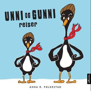 Unni og Gunni reiser (interaktiv bok) av Anna