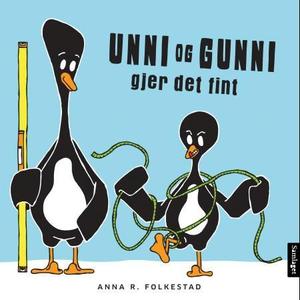 Unni og Gunni gjer det fint (interaktiv bok)