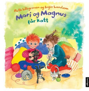 Mari og Magnus får katt (interaktiv bok) av R