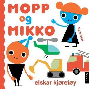 Mopp og Mikko elskar kjøretøy (interaktiv bok