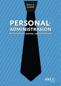 Personaladministrasjon (ebok) av Rolf B. Sund