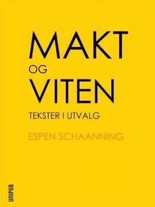 Makt og viten (ebok) av Espen Schaanning