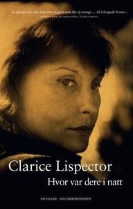 Hvor var dere i natt (ebok) av Clarice Lispec
