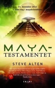 Mayatestamentet (ebok) av Steve Alten