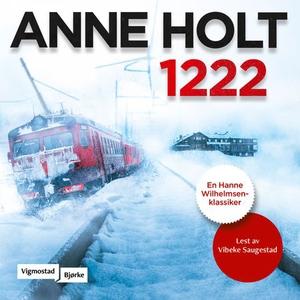 1222 (lydbok) av Anne Holt