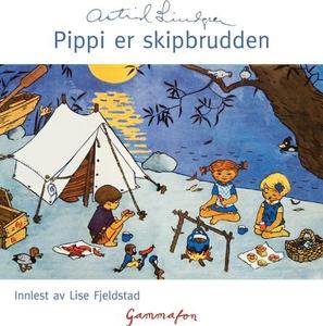 Pippi er skipbrudden (lydbok) av Astrid Lindg