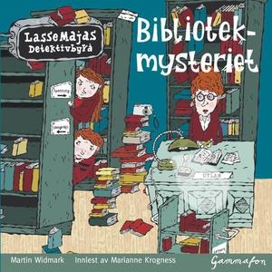 Bibliotekmysteriet (lydbok) av Martin Widmark