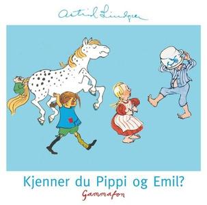 Kjenner du Pippi og Emil? (lydbok) av Astrid