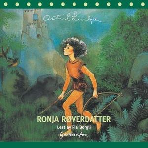 Ronja Røverdatter (lydbok) av Astrid Lindgren