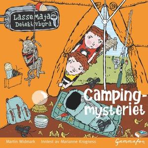 Campingmysteriet (lydbok) av Martin Widmark