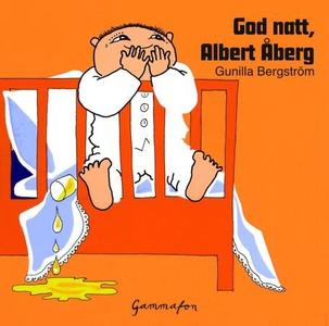 God natt, Albert Åberg (lydbok) av Gunilla Be