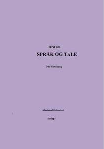 Ord om språk og tale (ebok) av