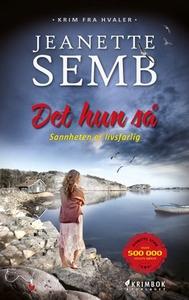 Det hun så (ebok) av Jeanette Semb